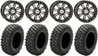 "STI HD3 14"" Wheels Black 28"" Crawler XR Tires Polaris Ranger XP 9/1K"