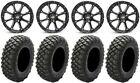 "STI HD4 14"" Wheels Black 28"" Crawler XR Tires Polaris Ranger XP 9/1K"