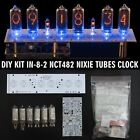 Nixie Tubes Clock IN-8-2 DIY KIT PCBs+ALL Parts,Divergence Meter Mini [NO TUBES]