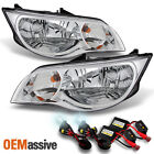2003-2007 Saturn ION Coupe Headlights Left + Right Replacement + Slim 6000K HID
