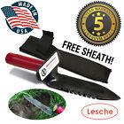 NEW Standard Lesche Digging Tool Sod Cutter Right Serrated Blade Metal Detector