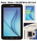 "Tablet PC Samsung Galaxy E Lite WiFi 7"" Android 4.4 bundle 128GB Micro SD + Adap"