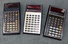 LOT of 3 Vintage TI 30 Ti 55 ti 59 Programmable Calculator Rare Collection