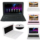 """HOTS 10"""" Android4.4 Netbook Dual Core Laptop Camera WiFi Notebook Keyboard HDMI"""