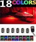 6pc LED MillionColor Neon Lights Pods Kit Polaris IQ Widetrak 600 Snowmobiles
