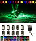 2016-2017 All Color Wireless Remote LED Snowmobile Neon Accent Light Pod x10 Kit