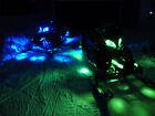 16PC 96 LED BRIGHT SNOWMOBILE UNDERGLOW NEON PODS LIGHT KIT w KEYCHAIN REMOTE