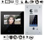 2 Wire Bus 4,3 Inch Video Door Phone Doorbell Set INTERCOM FLUSH
