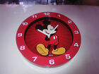 Walt Disney Classic Mickey Mouse Cordless Wall Clock 25cm NEW