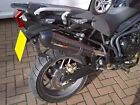Triumph Tiger 800 Exhaust FITS ALL GPE Carbonox by GPR Exhausts Poppy gpe