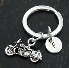 PERSONALIZED Harley Davidson Keychain - choose your Initial