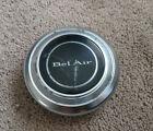 GM Chevrolet Vintage Chevy Bel Air Chrome Horn Button Cap~3898262 C-3