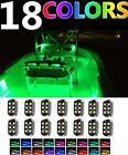 Waterproof 14pc Boat LED Interior Marine Deck Neon Lights Pod Kit Yacht Pontoon