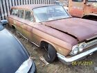 1962 Chevy Biscayne station wagon rat rod rust patina cool 283 std.  bowtie