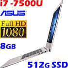 "Asus Zenbook UX310UA-GL311R i7-7500U 13.3"" FHD 8GB 512GB-SSD Win10 Pro Ultrabook"