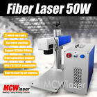 50W Fiber Laser Making Machine & Rotary Engraving Stainless Steel Metal CE/FDA