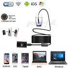 Wireless Wifi Endoscope Inspection Camera Hard Tube For Smartphone Android Mac