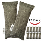 Jalousie 12 Packs 100g Each Mini Bamboo Charcoal Bags Natural Air Purifier, Shoe