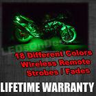 6x Pods LED Underbody Motorcycle Light Kit Kawasaki Ninja 300 650 Versys-X KRT