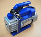 Rotary Vane Vacuum Pump Single Stage HVAC 3CFM 1/4HP