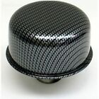 """PROFORM 66013 3"""" Push-in Air Breather Cap - Carbon Style"""