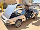 1981 DeLorean DMC-12 Gray 1981 DeLorean DMC-12  Less than 9000 miles!!!!
