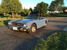 1975 Triumph TR-6  1975 Triumph TR 6 French Blue, mostly new body, 60,810 miles, great condition