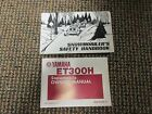YAHAMA ET300H SNOWMOBILE OWNER'S MANUAL - TWO BOOK SET