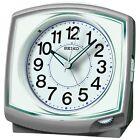 SEIKO CLOCK Alarm clock Analog Silver Metallic KR891S