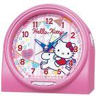 SEIKO CLOCK Alarm clock ello Kitty Talking Alarm Analog Pink CQ134P