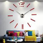 Creative DIY Home Living Room Modern Personal Art Wall Sticker Clock Sticker D