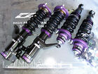 D2 Racing SL Super Low 36 way Coilovers Lowering Kit Honda Civic & CRX 88-91 New