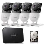 Zmodo 720p HD Wireless Smart Home Surveillance Camera System - 4 Camera 4CH N...