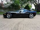 2006 Chevrolet Corvette Black Coupe Low Miles 2006 Chevrolet Corvette Coupe