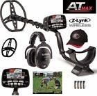Garrett New AT MAX Metal Detector, Waterproof, Z-LYNK WIRELESS HEADPHONES