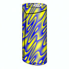 Skins Decals for Smok Priv V8 60w Vape / Neon Blue Yellow trippy