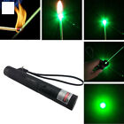 Military 5mw Green Laser Pointer Pen 532nm High Power Adjustable Zoomable Focus