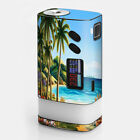 Skins Decals for Sigelei Fuchai Glo Vape / Beach Water Palm Trees