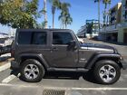 2016 Jeep Wrangler Sahara, Leather 2016 Jeep Wrangler Sahara 4X4, Navigaion, Leather, Hard top, Low Miles, Gray