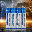 Professional 4 Pcs/Set Doublepow1.2V Ni-Mh AAA Chargeable Battery 1250mAh LC