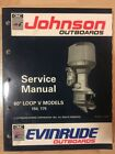 1992 OMC Johnson Evinrude 508146 150 and 175 60 Loop V Service Manual OE Factory