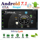"""Android7.1 Quad Core 7"""" Double DIN Car Stereo Radio GPS DVD Player 4G WIFI+Cam"""