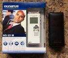 Olympus WS-321M Digital Voice Recorder/WMA/MP3 Music Player + Case