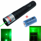 Military 5 Mile Visible Powerful Green Beam 5mw 532nm Laser Pointer Pen + 16340