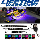 2000-2018 Snowmobile LED Lighting Kit All-Color Body Light Neon Strips 6pcs