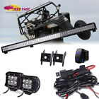 New! Can-Am 44Inch Led Light Bar Combo Beam Kit - 2xCube pods- Wiring Harness
