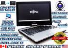 Fujitsu Lifebook T734 i3-4000M 4GB 320GB SSHD TOUCH Tablet Laptop Camera WIN10