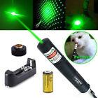 10Miles 532nm 1MW Green Beam Light Professional Laser Pointer Pen Lazer &Battery