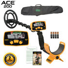 Garrett ACE 200 Metal Detector with Waterproof Search Coil and Carry Bag