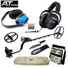 Garrett AT Pro w/ Bag Pouch Waterproof MS-2 Headphones Digger Skidplate